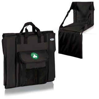 Picnic Time Boston Celtics Black Polyester Insulated Stadium Seat