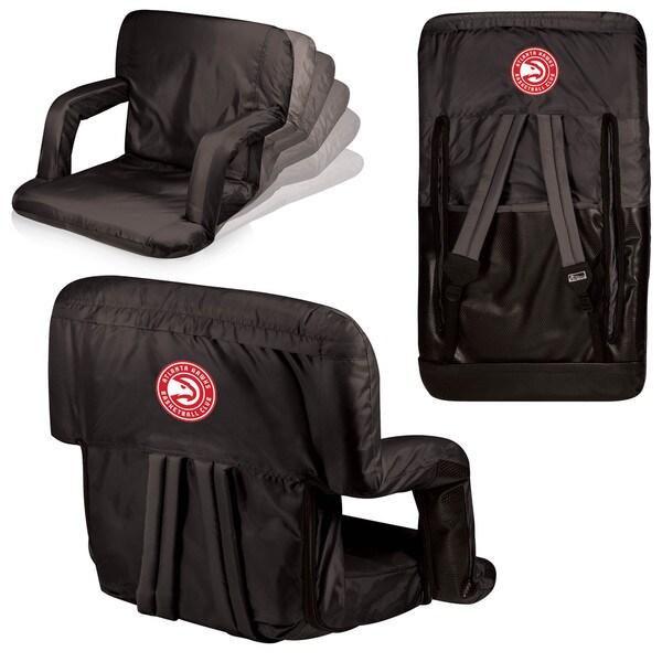 Picnic Time Atlanta Hawks Polyester/Metal Ventura Seat Portable Recliner Chair