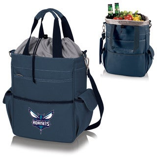 Picnic Time Charlotte Hornets Navy PVC and Polyester Activo Cooler Tote