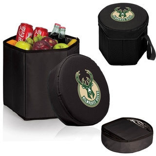 Picnic Time Black Milwaukee Bucks Bongo Cooler