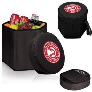 Picnic Time Atlanta Hawks Black Polyester/Plastic Bongo Cooler