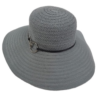 Hatch Hats Links Floppy Grey Sunhat
