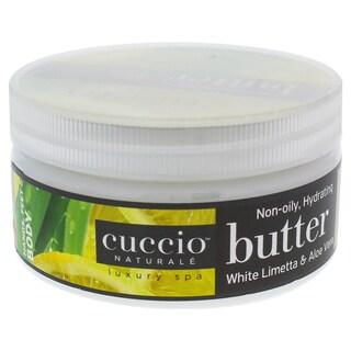 Cuccio Butter White Limetta and Aloe Vera 8-ounce Body Butter