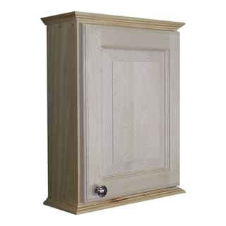 Ashton Series Unfinished Wood 18-inch On the Wall Cabinet