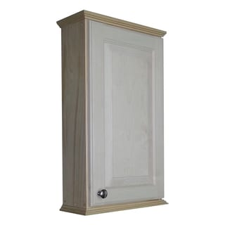 WG Wood Products Ashton Series Unfinished Wooden Wall Cabinet
