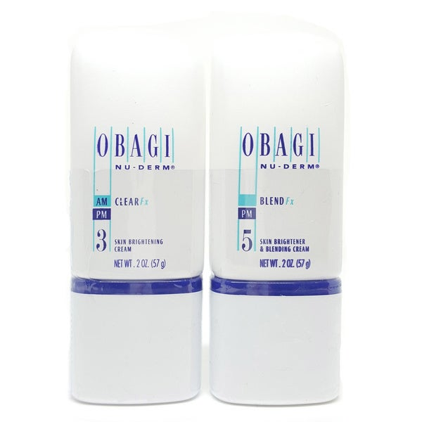 Obagi Nu-Derm Blend FX Facial Treatment, Step 5, 2 Oz Velds - AGE 2O Deep Hydration Anti-Aging Cream -50ml/1.7oz