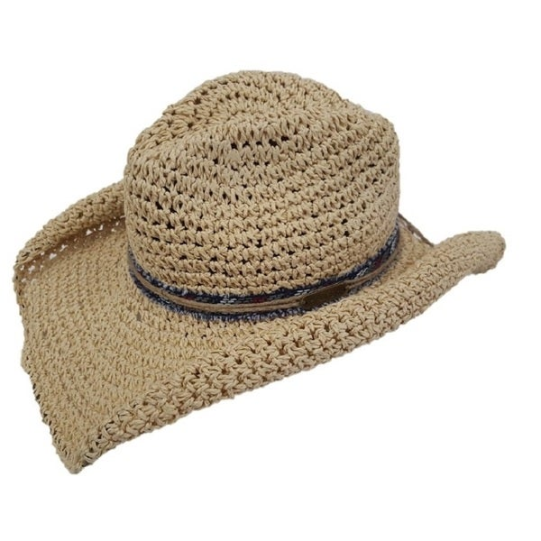 hatch hats s cowboy brown straw packable summer hat
