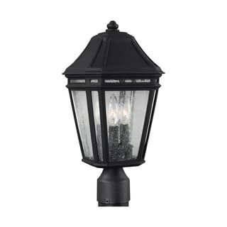 Feiss StoneStrong 3 - Light Outdoor Post, Black