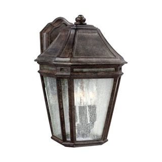 Feiss Londontowne 3 Light Weathered Chestnut Sconce