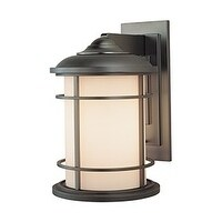 Feiss 1 - Light Wall Lantern, Burnished Bronze