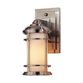 Feiss 1 - Light Wall Lantern, Brushed Steel