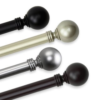 InStyleDesign Sphere 1-inch Adjustable Drapery Rod 160-240 inch (4 options available)