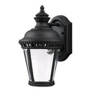 Feiss Castle 1 Light Black Wall Lantern