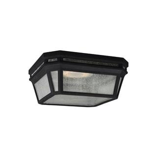 Feiss Londontowne LED Light Black Flush Mount