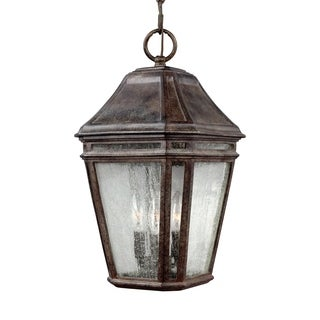 Feiss Londontowne 3 Light Weathered Chestnut Pendant