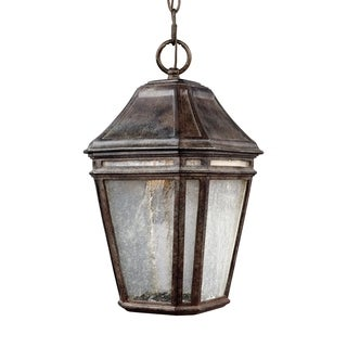 Feiss Londontowne LED Light Weathered Chestnut Pendant