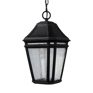 Feiss Londontowne LED Light Black Pendant