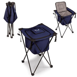 Picnic Time Sidekick Charlotte Hornets Navy Metal, Plastic, Polyester Portable Standing Cooler