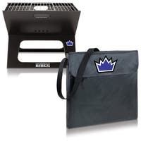 Picnic Time X-grill Sacramento Kings Metal and Polyester Portable BBQ Grill - Black