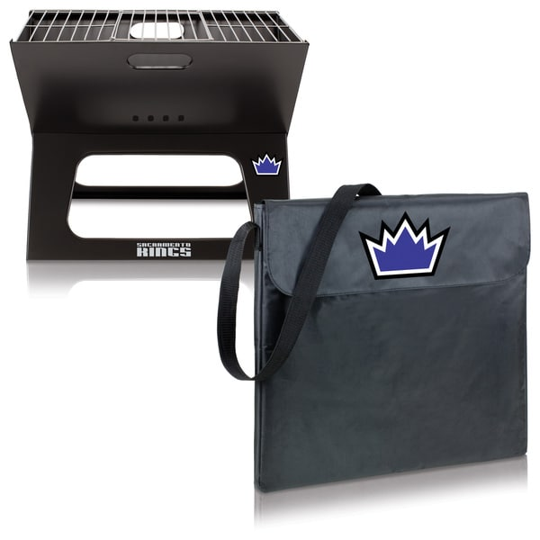 Picnic Time X-grill Sacramento Kings Metal and Polyester Portable BBQ Grill