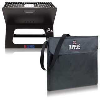 Picnic Time Los Angeles Clippers Metal/Polyester X-grill Portable BBQ