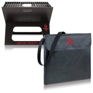 Picnic Time Houston Rockets Metal/Polyester X-grill Portable BBQ