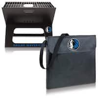 Picnic Time Dallas Mavericks X-Grill Metal/Polyester Folding Portable Charcoal BBQ Grill