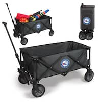 Picnic Time Philadelphia 76ers Dark Grey Polyester and Metal Adventure Wagon