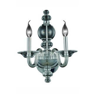 Elegant Lighting Champlain 10-inch Wall Sconce with Siver Shade Finish