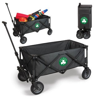 Picnic Time Boston Celtics Dark Grey Polyester and Metal Adventure Wagon