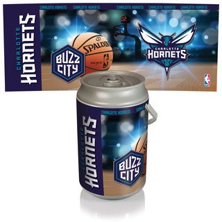 Charlotte Hornets Mega Can Cooler Plastic Basketball Design Insulated Cup Holder