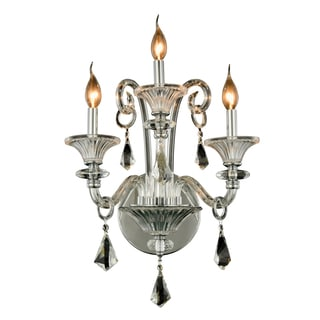 Elegant Lighting Aurora 19-inch Wall Sconce with Chrome Finish