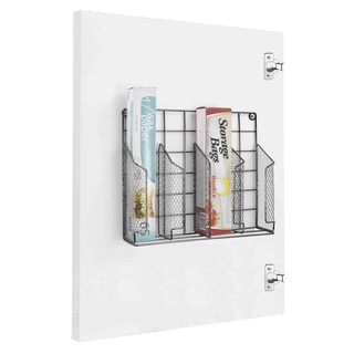 Home Basics Metal Wall-mounted Kitchen Organizer