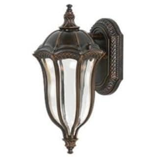 Feiss Baton Rouge 1 Light Walnut Wall Lantern