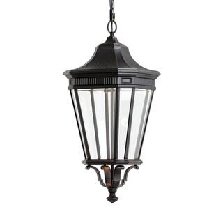 Feiss 2 - Light LED Cotswold Lane, Black