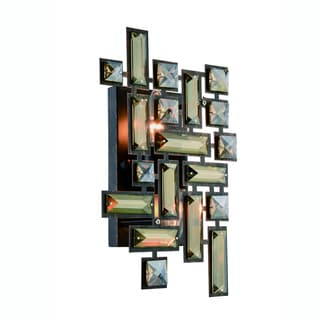 Elegant Lighting Picasso Wall Sconce with Dark Bronze Finish