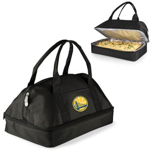 Picnic Time Golden State Warriors Polyester/Aluminium Two-tiered Potluck Casserole Tote