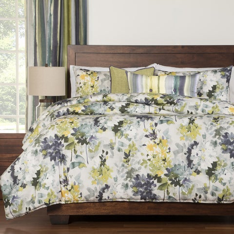 Siscovers Summer Plum Floral 6-piece Duvet Set