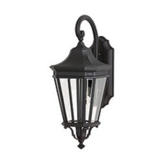 Feiss Cotswold Lane 1 Light Black Wall Lantern