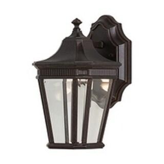 Feiss Cotswold Lane 1 Light Grecian Bronze Wall Lantern