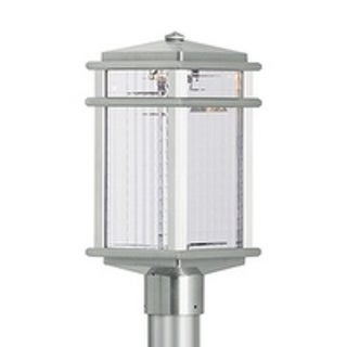 Feiss Mission Lodge 1 Light Brushed Aluminum Post
