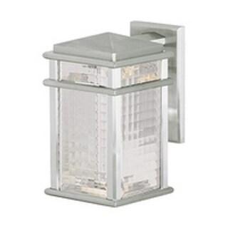 Feiss 1 - Light Wall Lantern, Brushed Aluminum