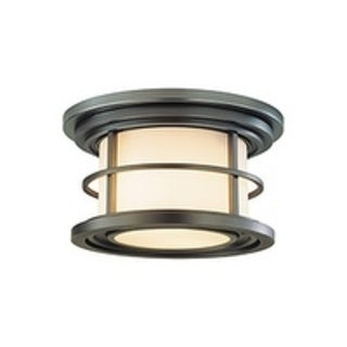 Feiss 1 - Light Ceiling Fixture, Burnished Bronze