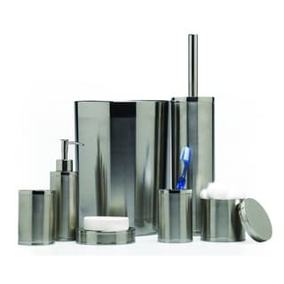 Two-tone Stainless Steel Bath Accessories Set