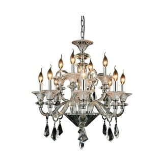 Link to Elegant Lighting Aurora 28-inch Pendant Lamp with Chrome Finish Similar Items in Pendant Lights