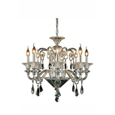 Elegant Lighting Aurora 26-inch Pendant Lamp with Chrome Finish
