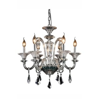 Link to Elegant Lighting Aurora 24-inch Pendant Lamp with Chrome Finish Similar Items in Pendant Lights