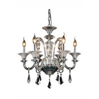 Elegant Lighting Aurora 24-inch Pendant Lamp with Chrome Finish