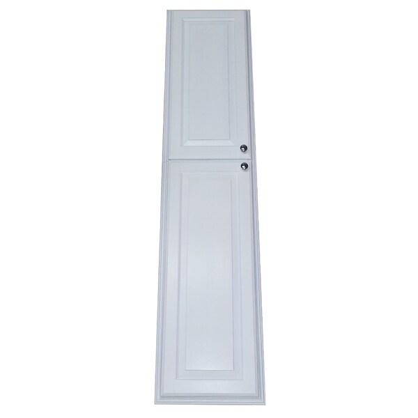 Shop Barbados White Wood Pantry Storage Cabinet Free