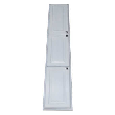 Wood 79.5-inch Easy-install Recessed Pantry Cabinet